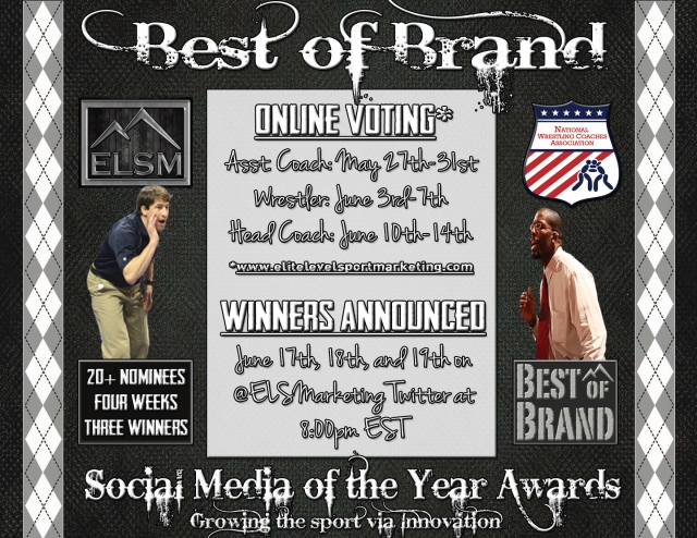 Social Media Award Graphic